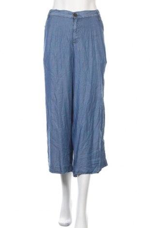 Дамски панталон Lane Bryant, Размер XL, Цвят Син, 100% лиосел, Цена 27,93лв.