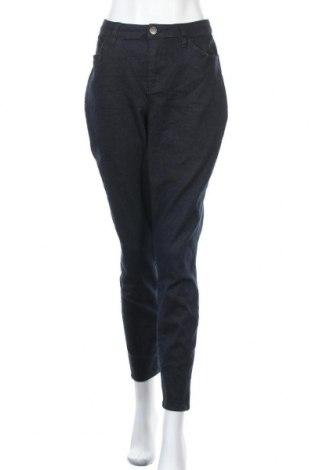 Дамски панталон Lane Bryant, Размер XL, Цвят Син, 67% памук, 22% полиестер, 9% вискоза, 2% еластан, Цена 28,93лв.