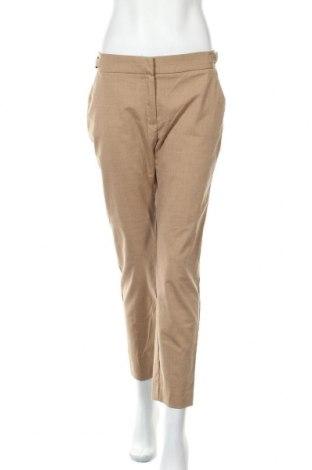 Γυναικείο παντελόνι Mango, Μέγεθος M, Χρώμα  Μπέζ, 69% πολυεστέρας, 29% βισκόζη, 2% ελαστάνη, Τιμή 10,69€