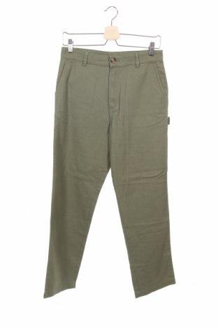 Дамски панталон Monki, Размер XS, Цвят Зелен, Памук, Цена 22,82лв.