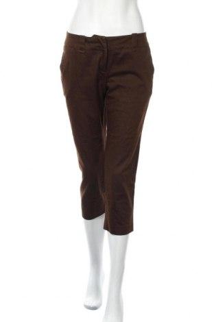 Дамски панталон New York & Company, Размер M, Цвят Кафяв, 60% памук, 38% полиестер, 2% еластан, Цена 7,11лв.