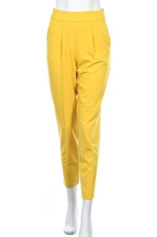 Pantaloni de femei ONLY, Mărime M, Culoare Galben, 74% poliester, 20% viscoză, 6% elastan, Preț 113,49 Lei