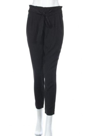 Дамски панталон ONLY, Размер S, Цвят Черен, Полиестер, Цена 16,13лв.