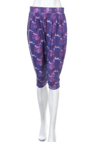 Дамски панталон One World, Размер M, Цвят Многоцветен, 52% памук, 40% модал, 8% еластан, Цена 15,12лв.