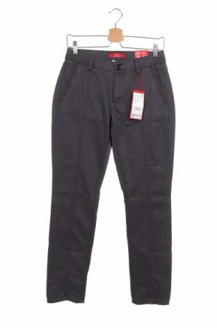 Pantaloni de femei S.Oliver, Mărime S, Culoare Gri, 63% bumbac, 37% lyocell, Preț 43,39 Lei