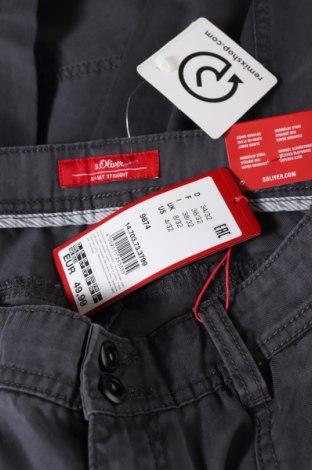 Pantaloni de femei S.Oliver, Mărime S, Culoare Gri, 63% bumbac, 37% lyocell, Preț 194,90 Lei