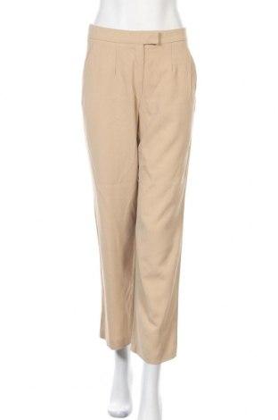 Дамски панталон St.Emile, Размер S, Цвят Бежов, 65% вискоза, 35% вълна, Цена 46,08лв.