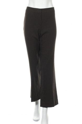 Дамски панталон Tahari, Размер M, Цвят Кафяв, 63% полиестер, 33% вискоза, 4% еластан, Цена 13,23лв.