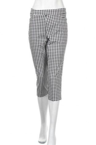 Дамски панталон Time and tru, Размер M, Цвят Черен, 76% вискоза, 21% полиамид, 3% еластан, Цена 9,21лв.