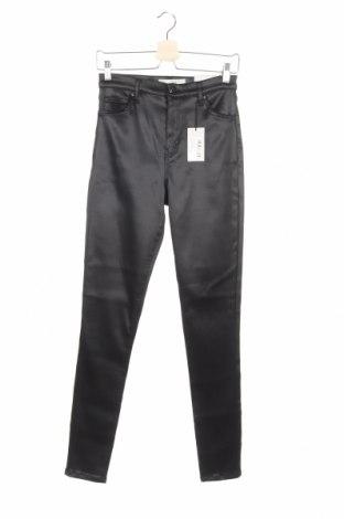 Дамски панталон Topshop, Размер S, Цвят Черен, 59% полиестер, 35% памук, 1% еластан, Цена 28,65лв.
