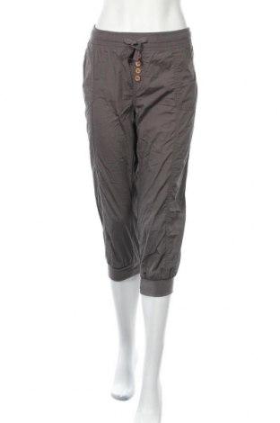 Дамски панталон Vintage, Размер L, Цвят Сив, Памук, Цена 13,23лв.