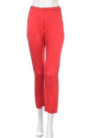 Дамски панталон Whyred, Размер S, Цвят Червен, 52% вискоза, 48% ацетат, Цена 20,30лв.