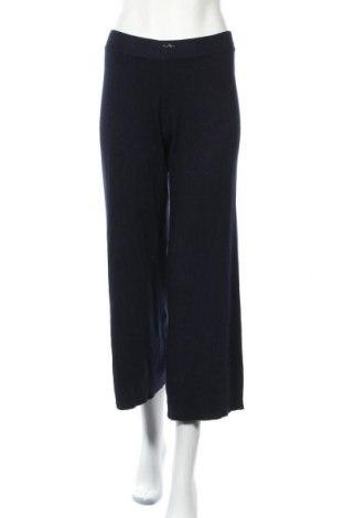 Γυναικείο παντελόνι Zara Knitwear, Μέγεθος S, Χρώμα Μπλέ, 69% βισκόζη, 31% πολυαμίδη, Τιμή 16,01€