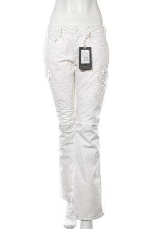 Дамски панталон за зимни спортове Burton, Размер S, Цвят Бял, Полиамид, Цена 216,75лв.