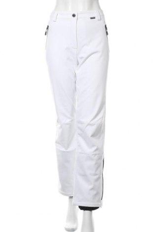 Дамски панталон за зимни спортове Icepeak, Размер L, Цвят Бял, 94% полиестер, 6% еластан, Цена 67,05лв.