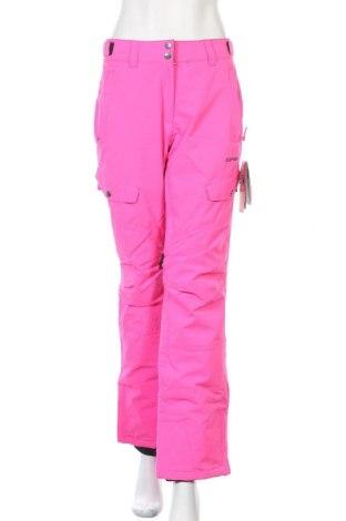 Дамски панталон за зимни спортове Icepeak, Размер M, Цвят Розов, Полиестер, Цена 67,60лв.