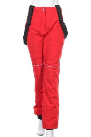 Дамски панталон за зимни спортове Peak Mountain, Размер L, Цвят Червен, Полиестер, Цена 126,75лв.