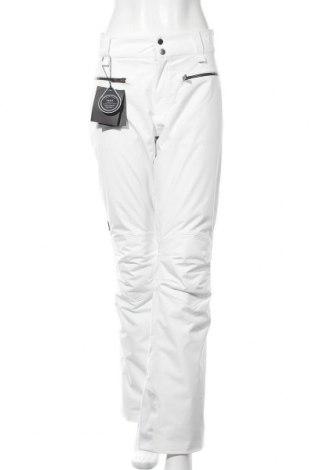 Дамски панталон за зимни спортове Peak Performance, Размер L, Цвят Бял, Полиестер, Цена 87,60лв.