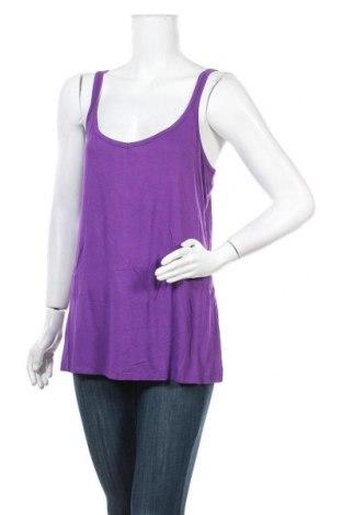 Γυναικείο αμάνικο μπλουζάκι Autograph, Μέγεθος XL, Χρώμα Βιολετί, 95% βισκόζη, 5% ελαστάνη, Τιμή 10,98€