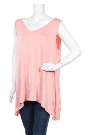 Γυναικείο αμάνικο μπλουζάκι Avella, Μέγεθος XXL, Χρώμα Ρόζ , Βισκόζη, ελαστάνη, Τιμή 10,39€