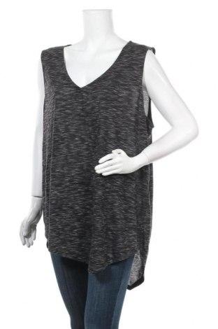 Γυναικείο αμάνικο μπλουζάκι Avella, Μέγεθος XL, Χρώμα Γκρί, Πολυεστέρας, βισκόζη, Τιμή 18,84€