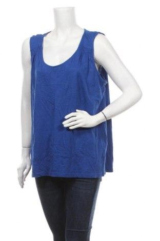 Γυναικείο αμάνικο μπλουζάκι Avella, Μέγεθος L, Χρώμα Μπλέ, Βαμβάκι, Τιμή 8,77€