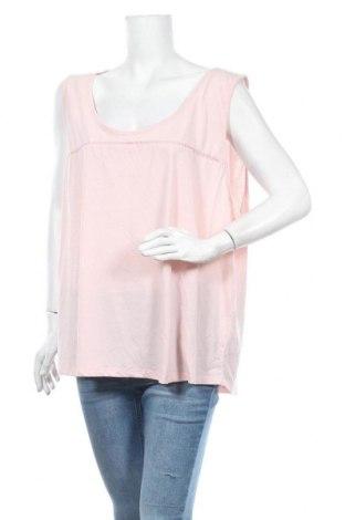 Γυναικείο αμάνικο μπλουζάκι Avella, Μέγεθος XXL, Χρώμα Ρόζ , Βαμβάκι, πολυεστέρας, Τιμή 11,04€