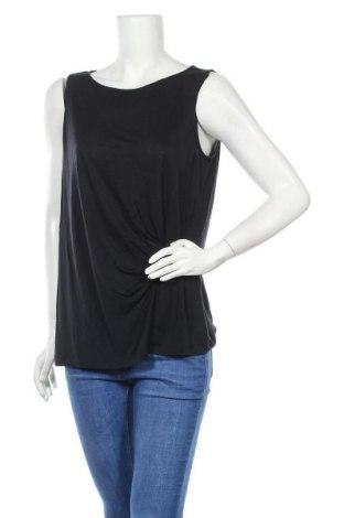 Γυναικείο αμάνικο μπλουζάκι Comma,, Μέγεθος L, Χρώμα Μπλέ, Τιμή 6,24€