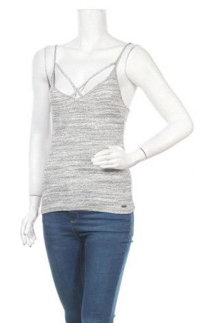 Γυναικείο αμάνικο μπλουζάκι Hollister, Μέγεθος M, Χρώμα Γκρί, 58% βαμβάκι, 40% πολυεστέρας, 2% ελαστάνη, Τιμή 6,82€