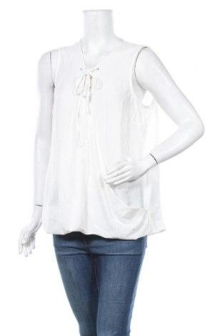 Γυναικείο αμάνικο μπλουζάκι Suzanne Grae, Μέγεθος XL, Χρώμα Λευκό, 97% πολυεστέρας, 3% ελαστάνη, Τιμή 5,20€