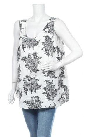 Γυναικείο αμάνικο μπλουζάκι Suzanne Grae, Μέγεθος XXL, Χρώμα Λευκό, Πολυεστέρας, Τιμή 8,18€