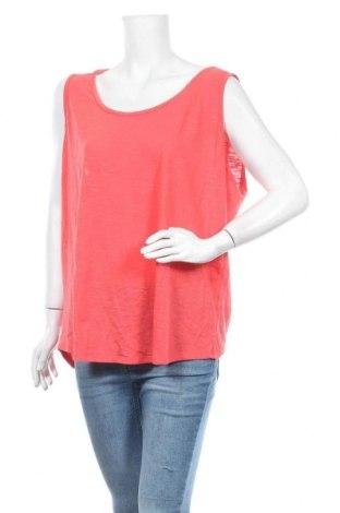Γυναικείο αμάνικο μπλουζάκι Suzanne Grae, Μέγεθος XXL, Χρώμα Κόκκινο, Πολυεστέρας, βαμβάκι, Τιμή 15,20€