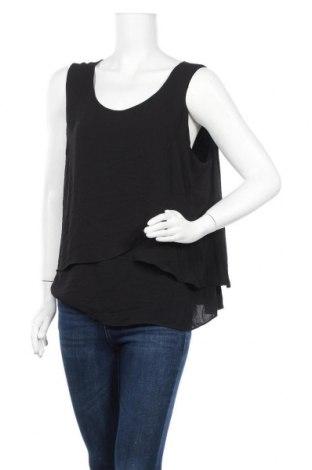 Γυναικείο αμάνικο μπλουζάκι Suzanne Grae, Μέγεθος XL, Χρώμα Μαύρο, Πολυεστέρας, Τιμή 11,11€