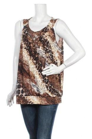 Γυναικείο αμάνικο μπλουζάκι Suzanne Grae, Μέγεθος XL, Χρώμα Πολύχρωμο, Πολυεστέρας, Τιμή 8,77€