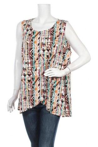 Γυναικείο αμάνικο μπλουζάκι Suzanne Grae, Μέγεθος XL, Χρώμα Πολύχρωμο, Πολυεστέρας, ελαστάνη, Τιμή 3,86€