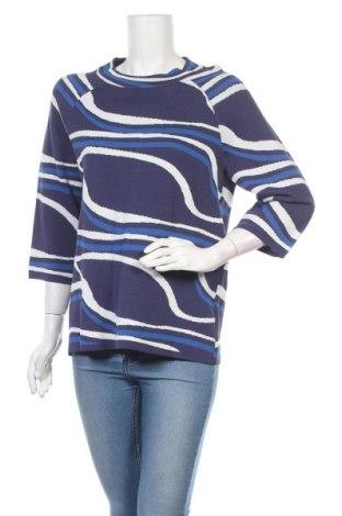 Дамски пуловер Madeleine, Размер L, Цвят Син, 65% вискоза, 35% полиамид, Цена 52,00лв.