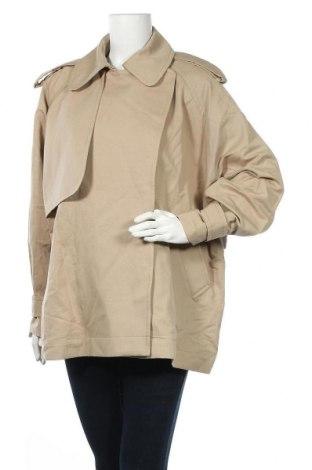 Дамски шлифер Arket, Размер S, Цвят Бежов, 55% лен, 45% памук, Цена 78,12лв.