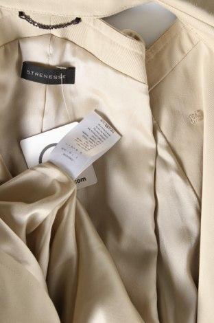 Дамски шлифер Strenesse, Размер M, Цвят Бежов, 98% памук, 2% еластан, Цена 374,25лв.