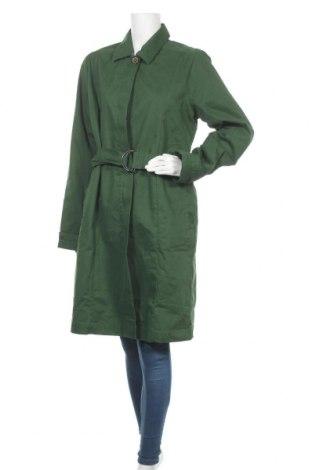 Trench de femei Tranquillo, Mărime XL, Culoare Verde, Bumbac, poliester, Preț 150,72 Lei