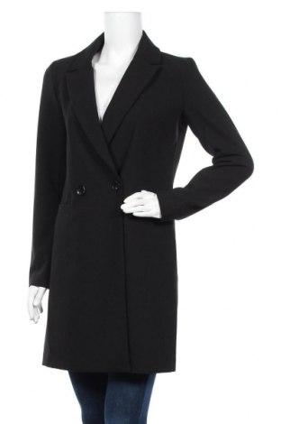 Γυναικείο παλτό ONLY, Μέγεθος S, Χρώμα Μαύρο, 76% πολυεστέρας, 18% βισκόζη, 6% ελαστάνη, Τιμή 34,41€