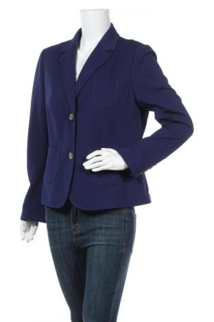 Дамско сако Alba Moda, Размер XL, Цвят Син, 95% полиестер, 5% еластан, Цена 16,80лв.