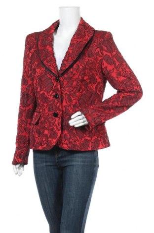 Дамско сако Ashley Brooke, Размер L, Цвят Червен, 94% полиестер, 6% полиамид, Цена 27,93лв.