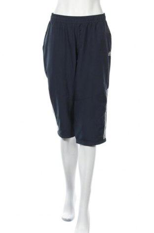 Дамско спортно долнище Adidas, Размер L, Цвят Син, Цена 13,23лв.