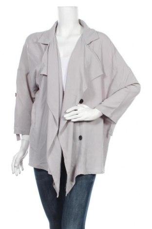 Дамско яке American Apparel, Размер L, Цвят Сив, 95% памук, 5% еластан, Цена 36,59лв.
