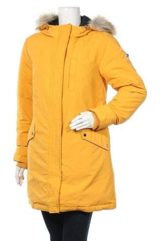 Γυναικείο μπουφάν Tommy Hilfiger, Μέγεθος L, Χρώμα Κίτρινο, Πολυαμίδη, Τιμή 200,52€
