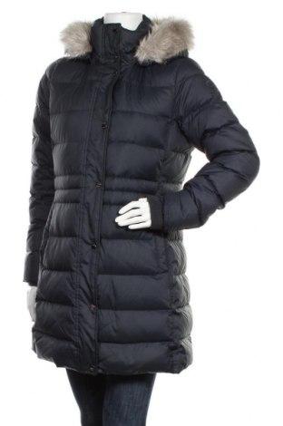 Γυναικείο μπουφάν Tommy Hilfiger, Μέγεθος M, Χρώμα Μπλέ, Πολυεστέρας, φτερά και πούπουλα, Τιμή 205,67€