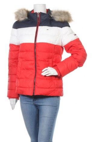 Γυναικείο μπουφάν Tommy Hilfiger, Μέγεθος L, Χρώμα Πολύχρωμο, Πολυεστέρας, Τιμή 133,51€