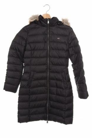 Γυναικείο μπουφάν Tommy Hilfiger, Μέγεθος XS, Χρώμα Μαύρο, Πολυεστέρας, φτερά και πούπουλα, Τιμή 221,13€