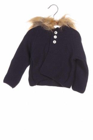 Pulover cu nasturi pentru copii Lola Palacios, Mărime 9-12m/ 74-80 cm, Culoare Albastru, Acrilic, Preț 53,19 Lei