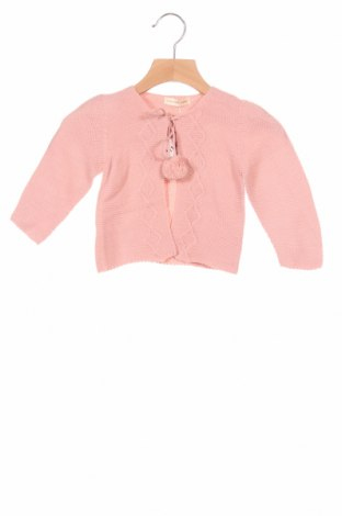 Детска жилетка Lola Palacios, Размер 18-24m/ 86-98 см, Цвят Розов, Акрил, Цена 23,40лв.
